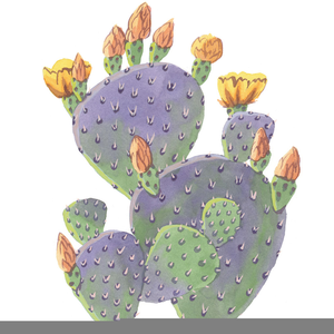 Prickly pear clipart jpg transparent stock Prickly Pear Cactus Clipart | Free Images at Clker.com ... jpg transparent stock