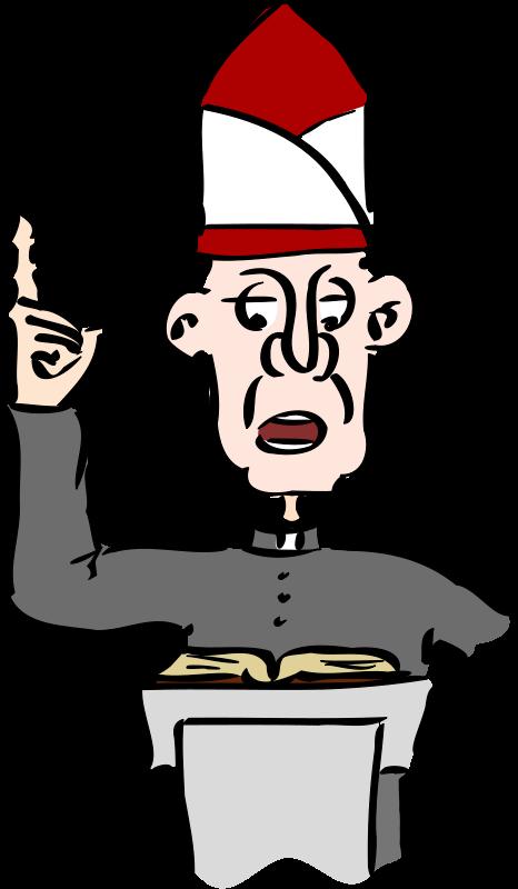 Priest clipart free jpg Free Clipart: Priest | melwe jpg