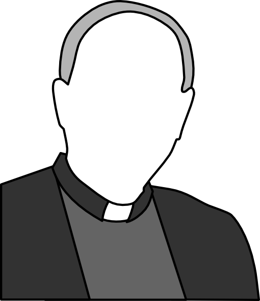 Priest clipart free clip art black and white stock Priest clip art (104187) Free SVG Download / 4 Vector clip art black and white stock