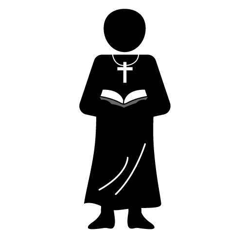 Priest the lord be with you clipart clip freeuse stock priest clipart black and white - Google Search | priest cake ... clip freeuse stock