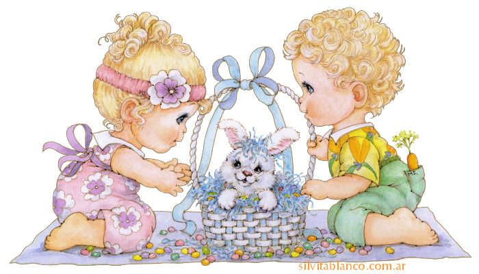 Primaverababies clipart stock primavera | Precious Moments | Cute kids pics, Easter ... stock