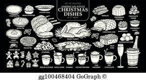 Prime rib dinner black and white clipart clip download Prime Rib Dinner Clip Art - Royalty Free - GoGraph clip download