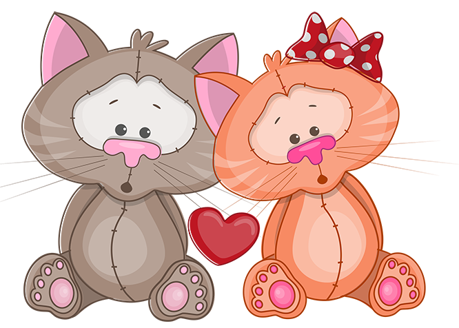 Primitive cat clipart png free library tubes St-Valentin | cute and picture | Pinterest | Saints, Clip art ... png free library