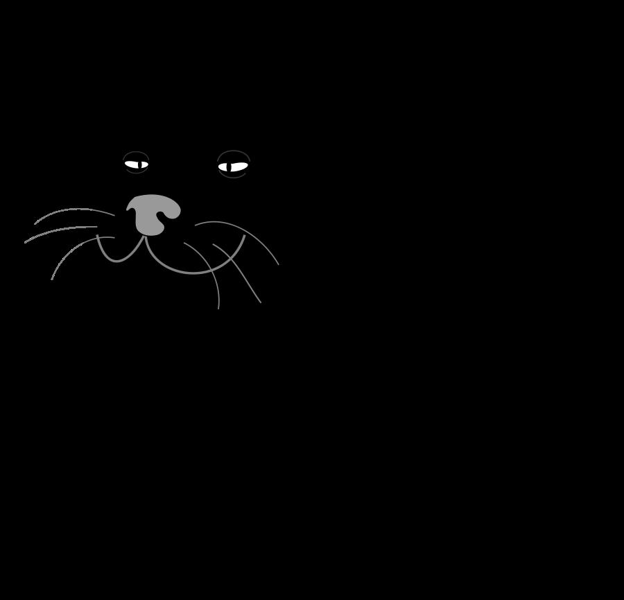 Primitive cat clipart royalty free stock Black Cat / Gato Negro medium 600pixel clipart, vector clip art ... royalty free stock