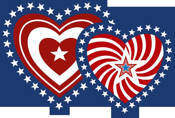 Primitive patriotic heart clipart graphic library library Free patriotic clip art pictures clipartix 2   THE STARS AND ... graphic library library