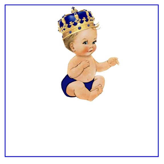 Prince baby clipart picture freeuse stock Prince Baby Shower Favor Tags Many Options picture freeuse stock