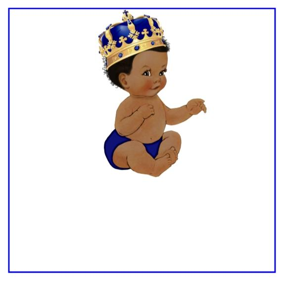 Prince baby clipart picture freeuse Prince Baby Shower Favor Tags Many Options picture freeuse