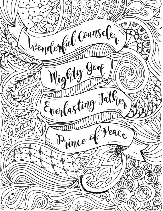 Prince of peace isiah 9 6 clipart svg library isaiah 9 6 coloring page – qoopon.co svg library