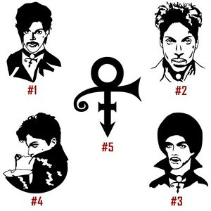 Prince rogers nelson clipart black and white picture freeuse stock Details about Prince Rogers Nelson Vinyl Decal Sticker Car Window Wall  Laptop American singer picture freeuse stock