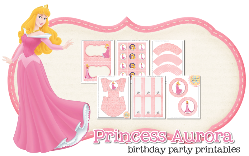 Princess aurora crown clipart graphic library stock Princess Aurora Free Printable Kit. | Oh My Fiesta! in english graphic library stock