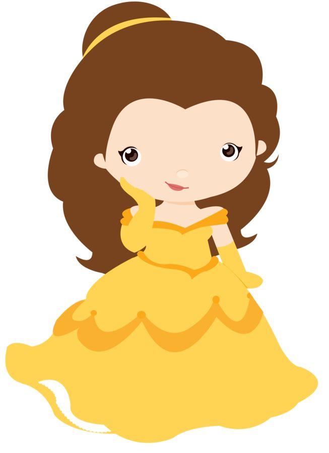 Princess belle clipart cute png transparent library 10 Best images about princesas on Pinterest | Disney, Rapunzel and ... png transparent library