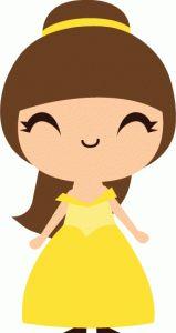 Princess belle clipart cute png transparent download 17 Best ideas about Cute Princess on Pinterest | Fairy birthday ... png transparent download