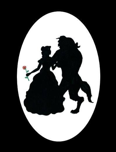 Princess belle silhouette clipart free download Beauty and the beast bell black silhouette clipart - ClipartFest free download