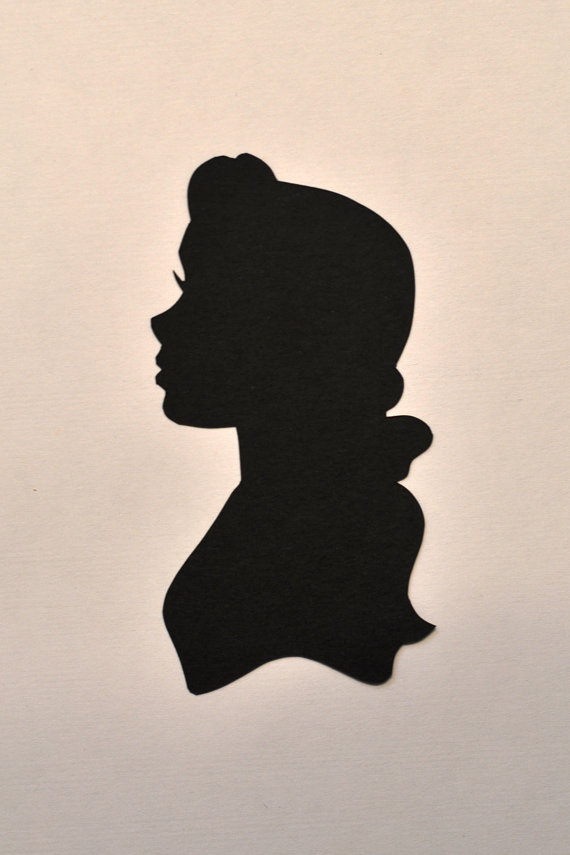 Princess belle silhouette clipart image stock Jpg disney belle shadow clipart - ClipartFest image stock