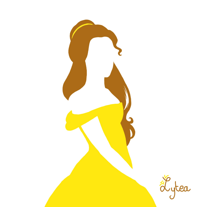 Princess belle silhouette clipart graphic black and white stock Princess belle silhouette clipart - ClipartFest graphic black and white stock