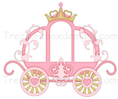 Princess carriage clipart picture free stock Princess Carriage | ClipArt*Girls | Princess party ... picture free stock