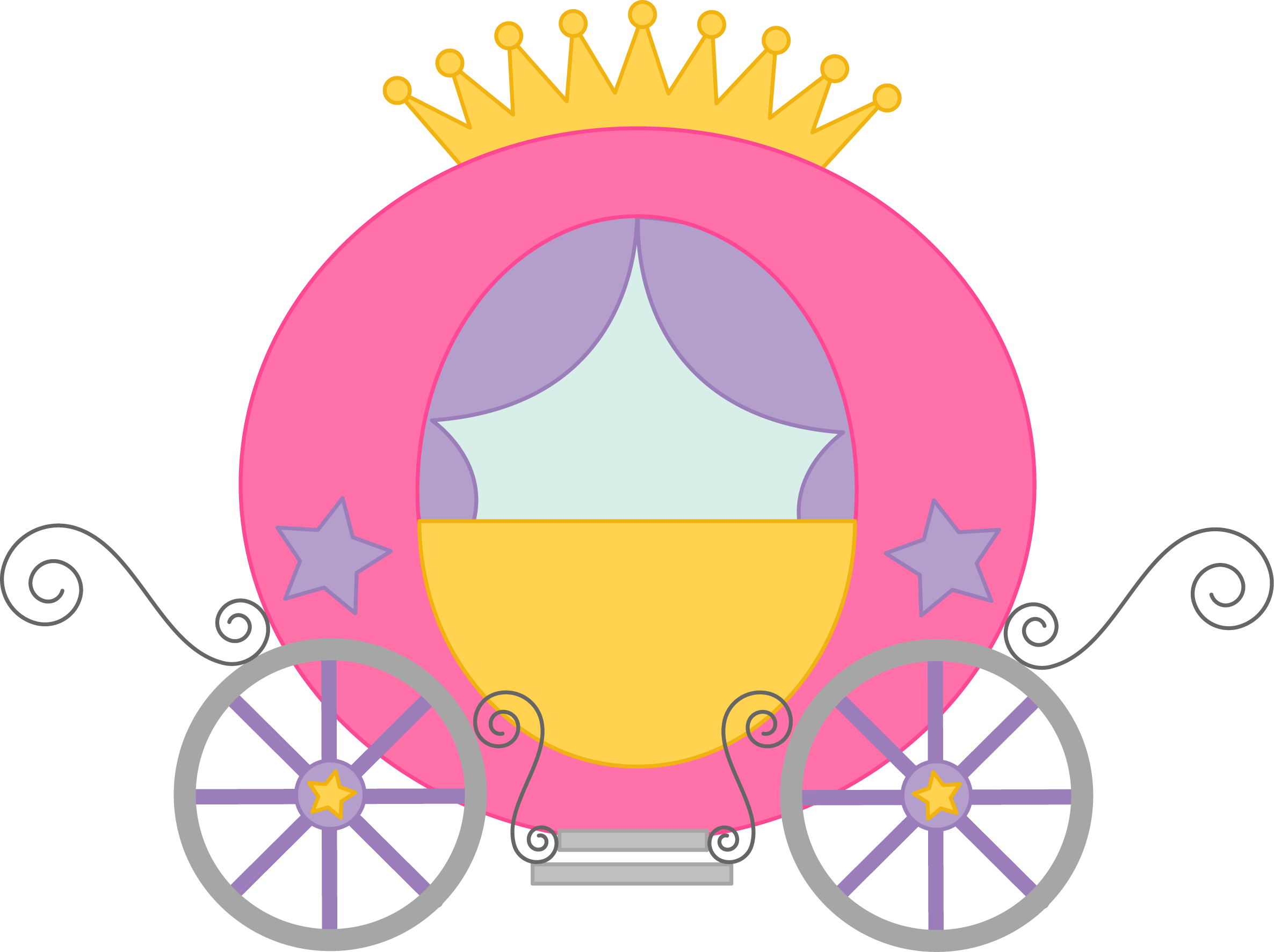Princess carriage clipart jpg transparent library Fairytale Princess Pictures - Cliparts.co | Princess cards ... jpg transparent library