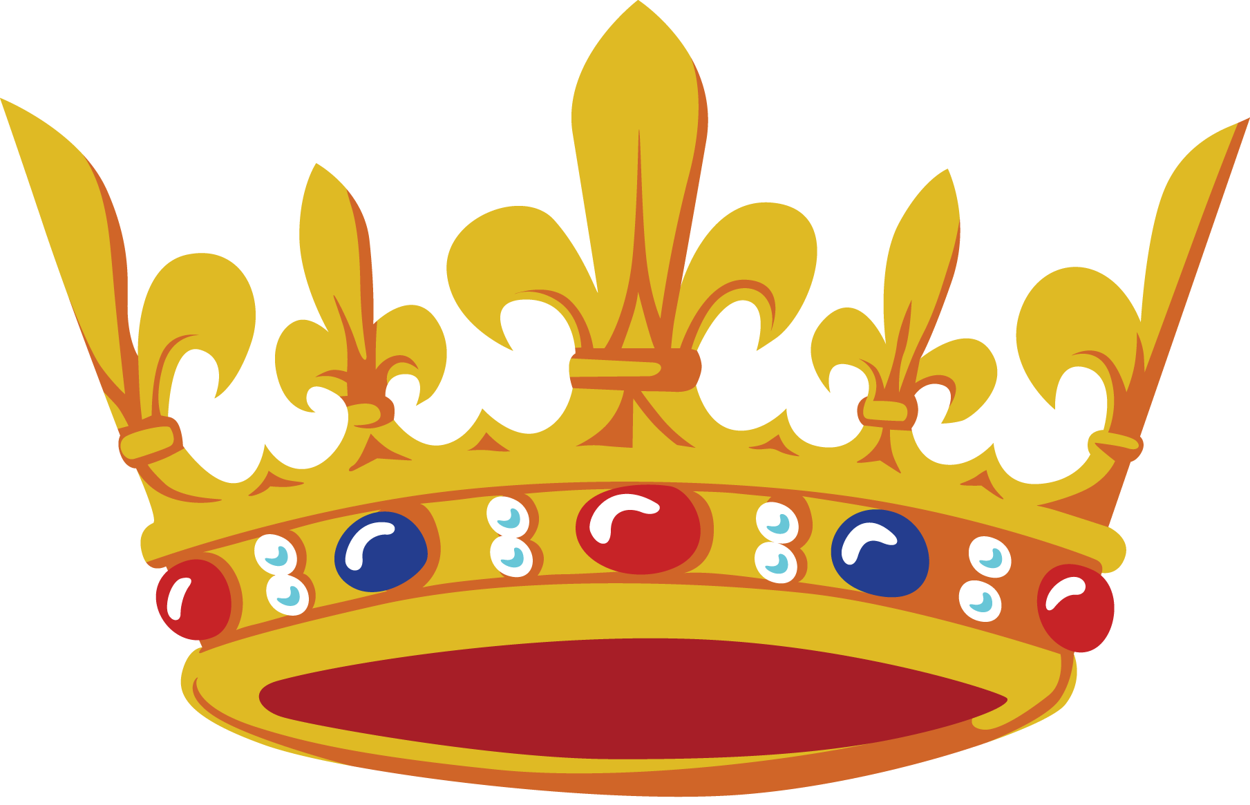 Princess crown clipart no background picture transparent stock Gold Crown Korona PNG Image - PurePNG | Free transparent CC0 PNG ... picture transparent stock