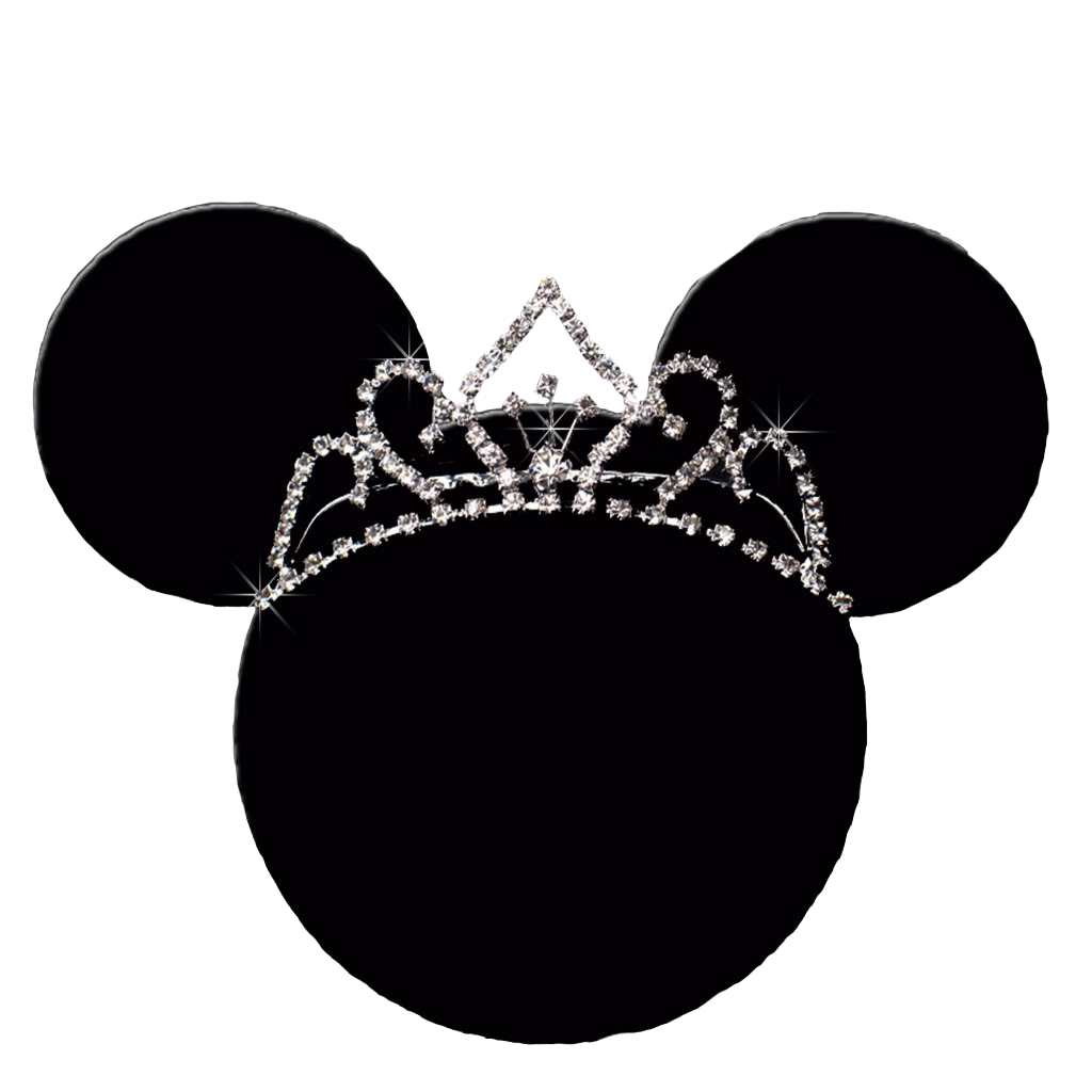 Princess crown outline clipart jpg freeuse library Minnie Mouse Mickey Mouse Disney Princess Clip art - princess crown ... jpg freeuse library