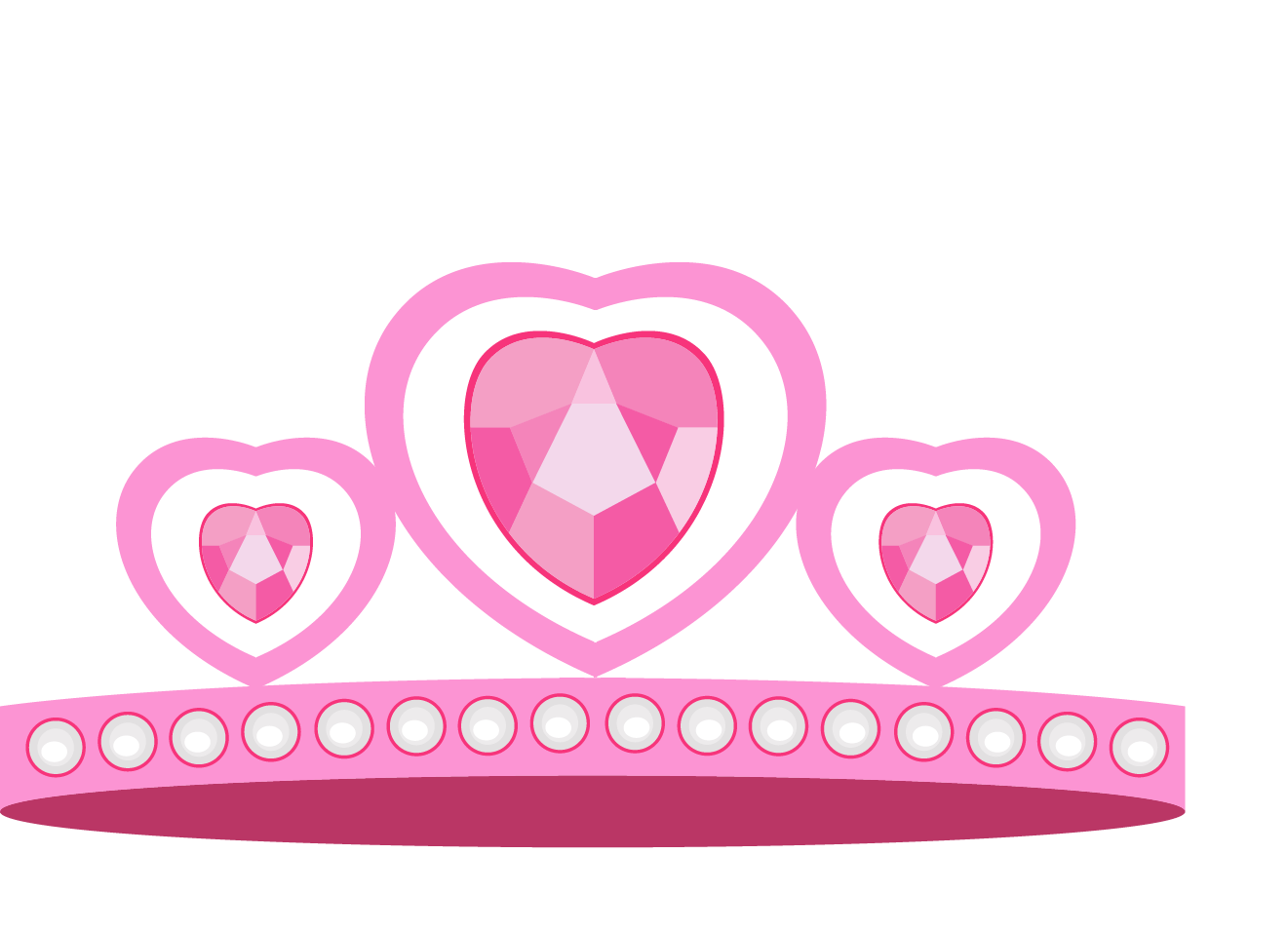 Princess crown with hearts clipart banner transparent download Cartoon princess crown vector material 1321*956 transprent Png Free ... banner transparent download
