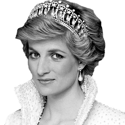 Princess diana clipart graphic black and white download Lady Diana Crown transparent PNG - StickPNG graphic black and white download