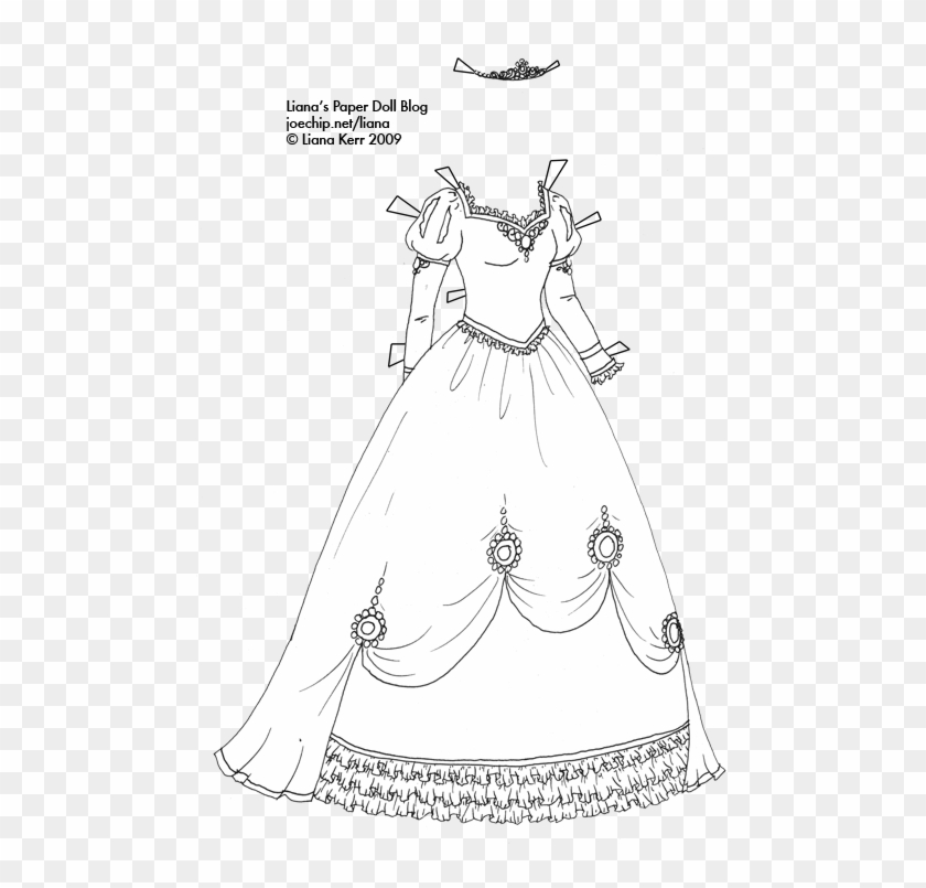 Princess dress clipart black and white jpg royalty free stock Masquerade Dresses Clipart Gown Black And White Costume ... jpg royalty free stock