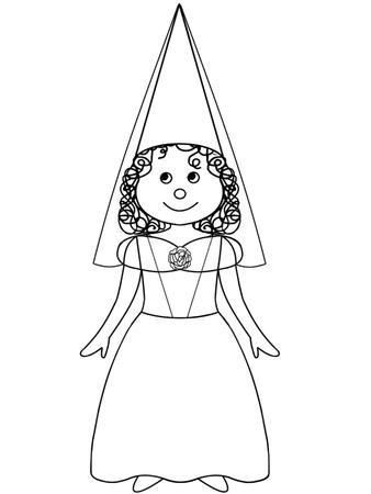 Princess dress clipart black and white clipart royalty free library Princess Dress Clipart Black And White | Quiet Books ... clipart royalty free library