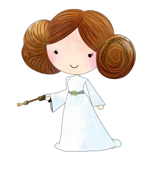 Star wars princess leia clipart image transparent stock Pillow- Name with Star Wars Image – Lil Green Rhino image transparent stock