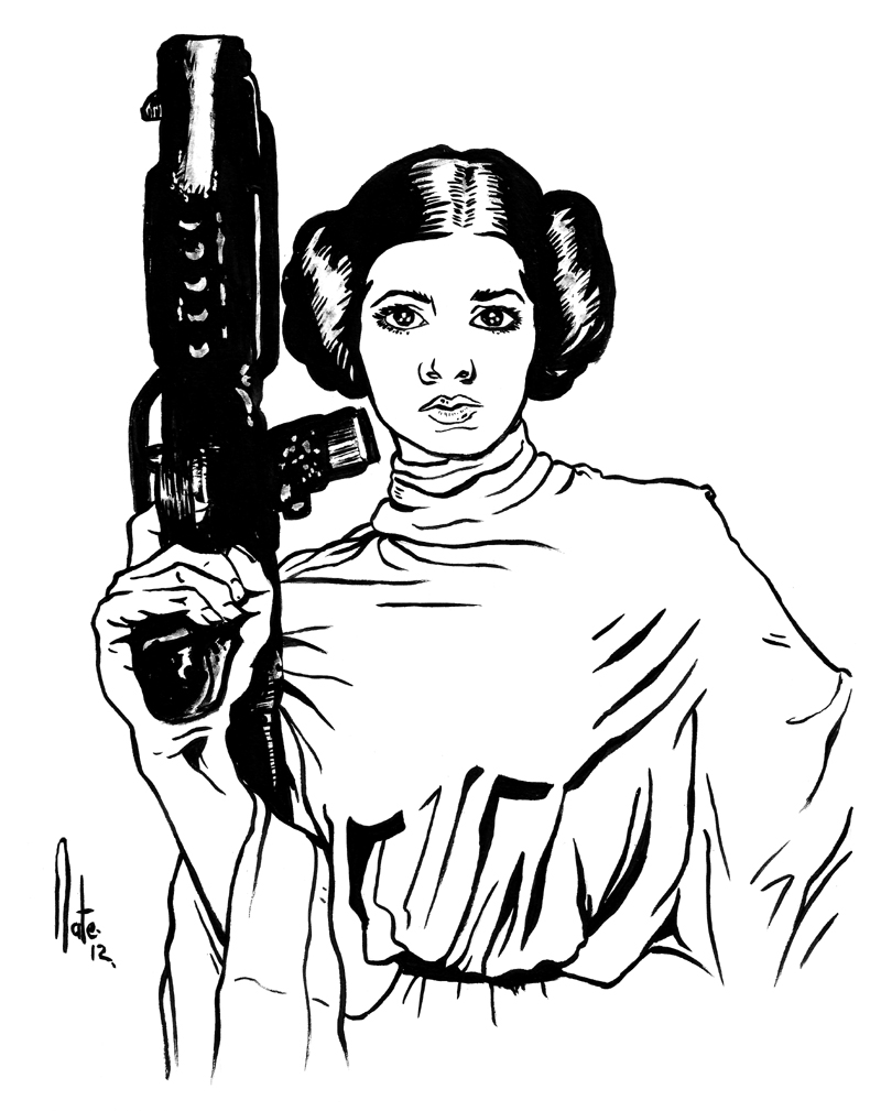 Library of princess leia star wars image library library ...