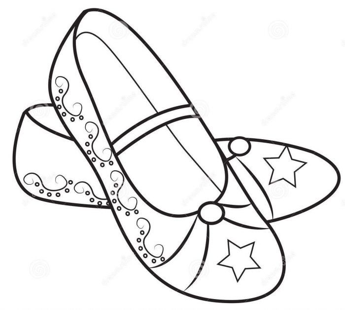 Princess shoes for girls clipart black and white clipart freeuse library Kids Shoes Drawing | Free download best Kids Shoes Drawing ... clipart freeuse library