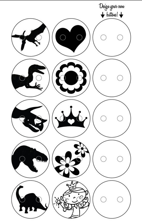 Princess shrinky dink clipart black and white graphic transparent stock shrinky dink templates for buttons for the boys...Dino\'s ... graphic transparent stock