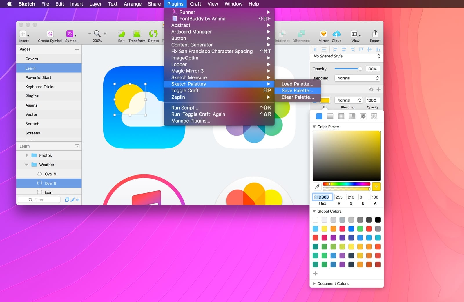 Principle is importing sketch files as cliparts banner black and white download Powerful Start in Sketch - Design+Code banner black and white download