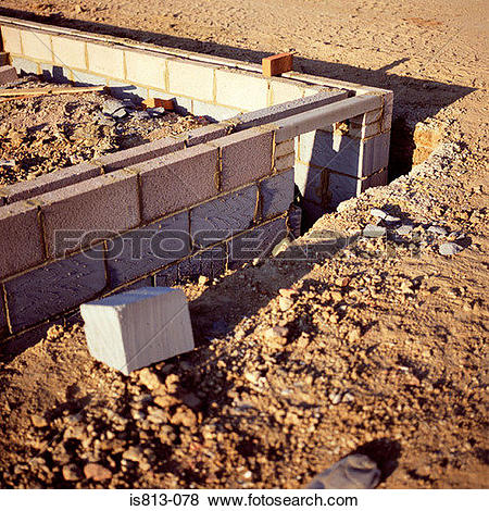 Print clipart from site svg Pictures of Foundations on construction site is813-078 - Search ... svg