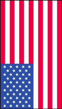 Vertical american flag clipart image library stock American Flag Clip Art image library stock