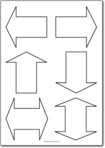 Printable arrow svg transparent download Basic arrow shapes | Free Printables, free printable shape templates svg transparent download