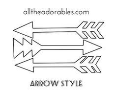 Printable arrow image black and white download DIY Freezer Paper Stencil Tshirt Free Printable | DIY | Pinterest ... image black and white download