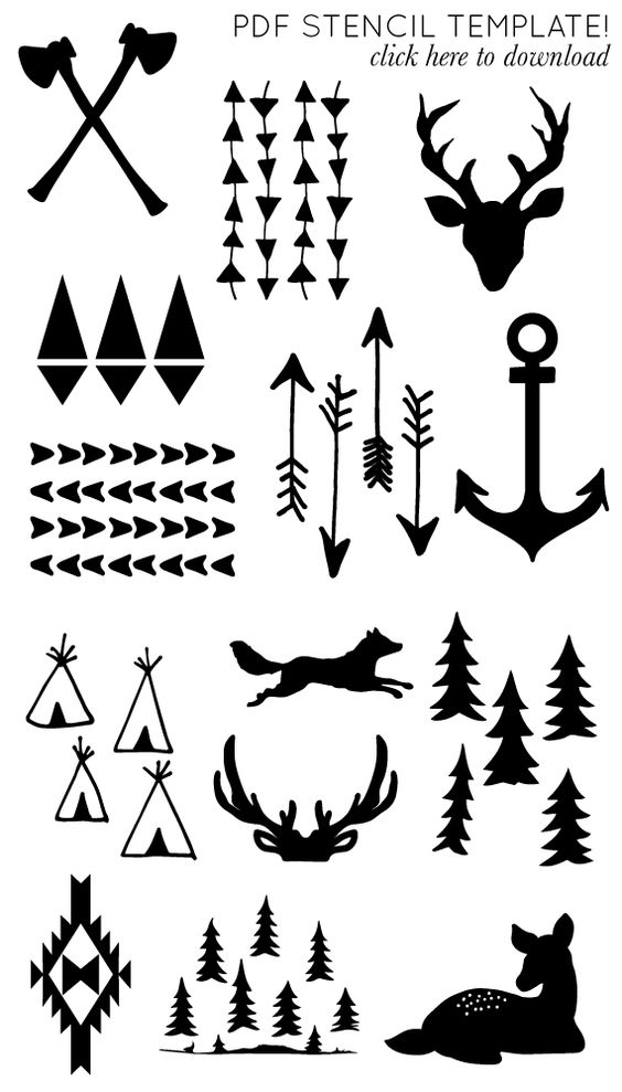 Printable arrow clip art free I will need these one day im sure!!!! printable arrow and antler ... clip art free