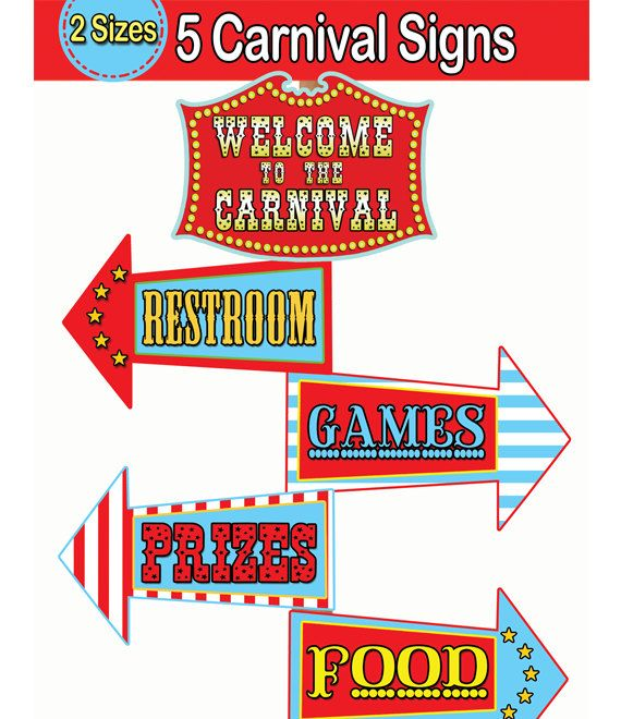 Printable arrow signs freeuse stock 1000+ ideas about Carnival Signs on Pinterest | Circus theme party ... freeuse stock