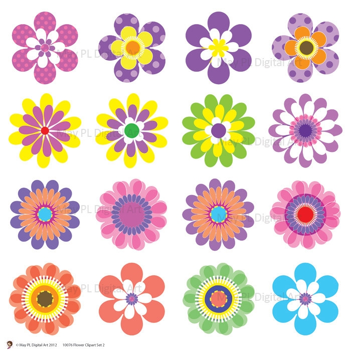Printable clipart clipart royalty free Flower printable clipart - ClipartFest clipart royalty free