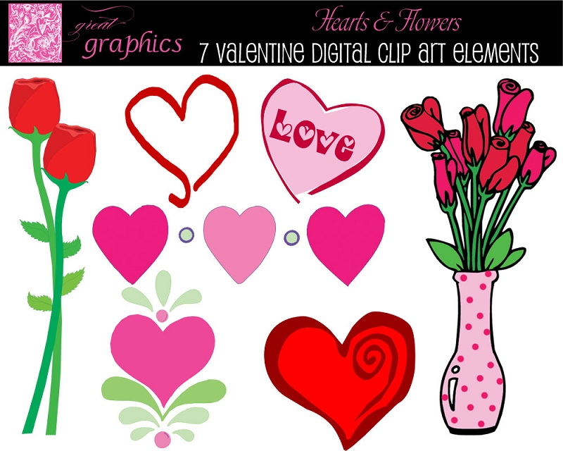 Printable clipart picture free stock Printable valentine clipart - ClipartFest picture free stock