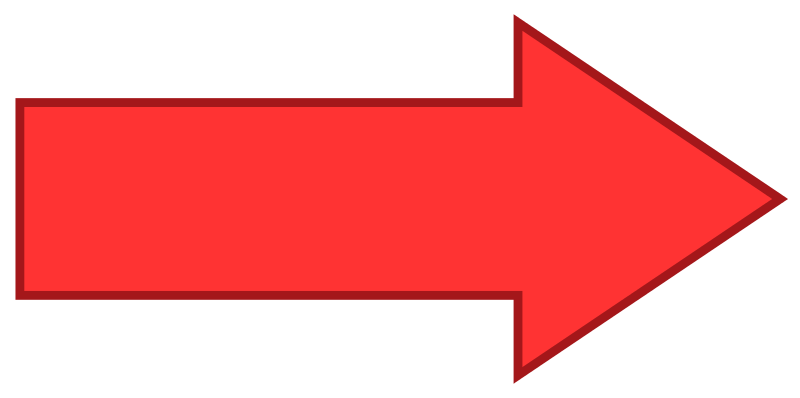 Printable clipart arrow to the right graphic freeuse download File:Arrow facing right - Red.svg - Wikimedia Commons graphic freeuse download