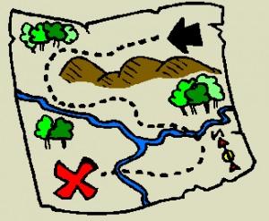 Printable clipart map clip art transparent library Printable clipart map - ClipartFox clip art transparent library