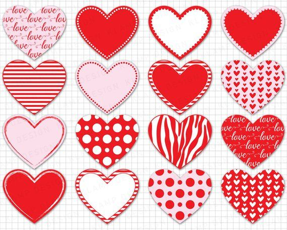 Printable heart clipart clipart free library Heart Clipart: \