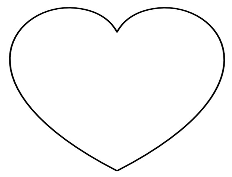 Printable heart clipart vector stock Free printable heart clipart 3 » Clipart Portal vector stock