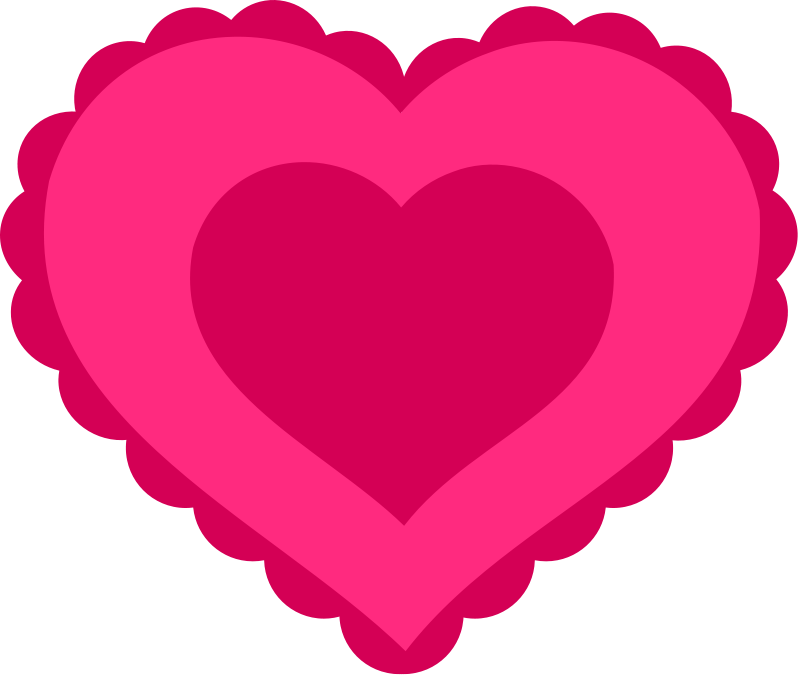 Printable heart clipart image royalty free Heart Clipart - Free Love and Romance Graphics image royalty free