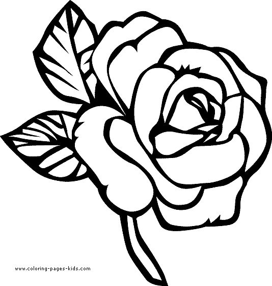 Printable images of flowers picture library library flower Page Printable Coloring Sheets | page, Flowers coloring ... picture library library