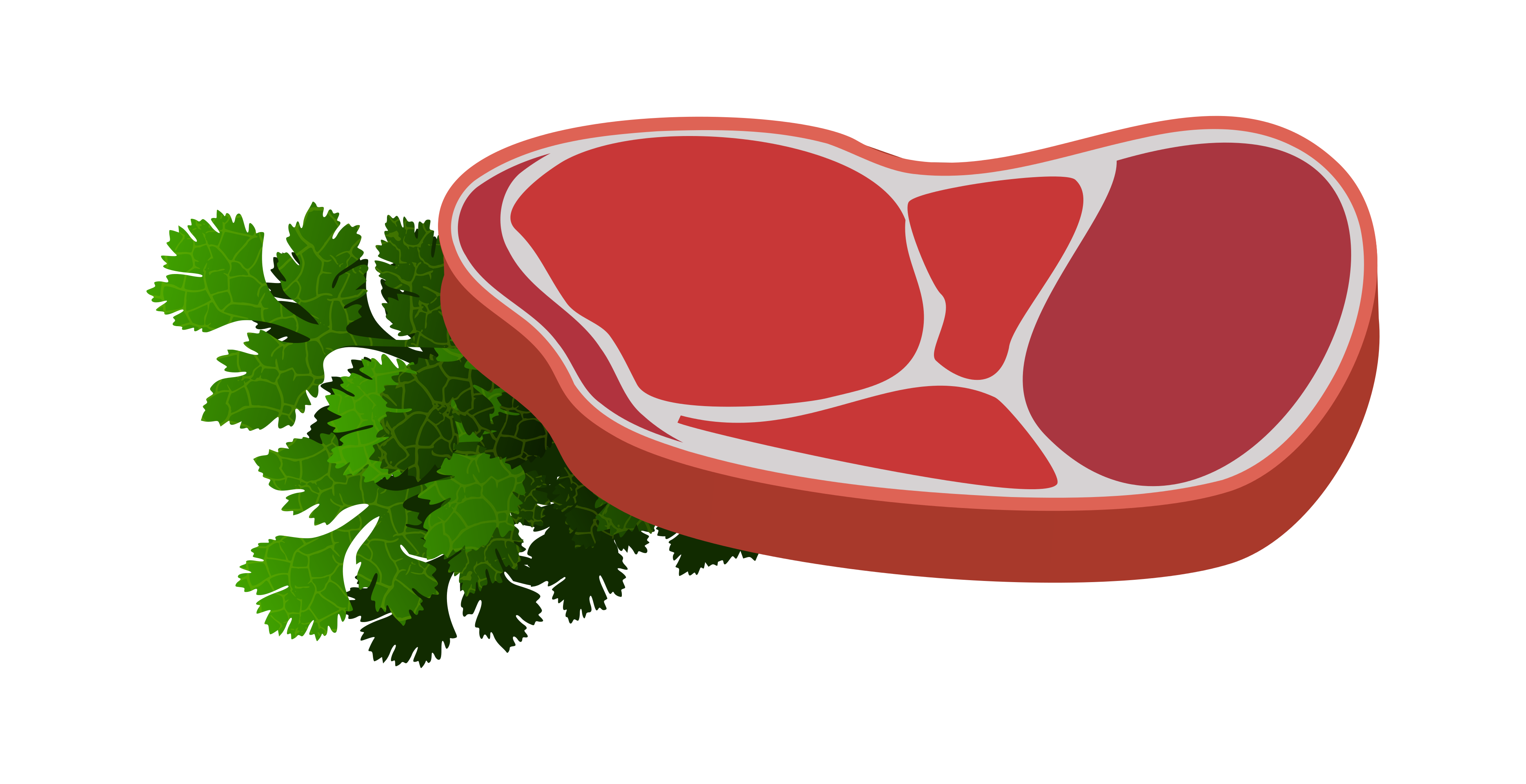 Printable images of meat and food clipart svg black and white library Raw Steak clipart 3892x2000 | Clipart Everyday Foods | No ... svg black and white library