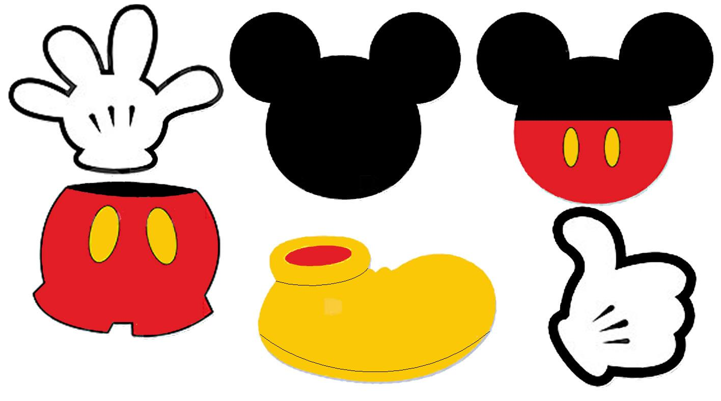 Printable mickey mouse clipart picture royalty free download 17 Best images about Felt Mickey Mouse on Pinterest | Terminal ... picture royalty free download