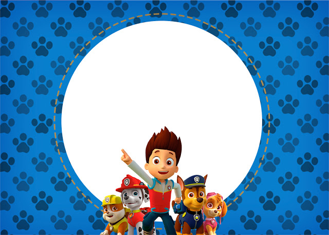 Printable paw patrol clipart clipart royalty free library Paw patrol invite background clipart - ClipartFest clipart royalty free library