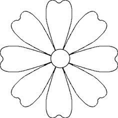 Printable photos of flowers graphic freeuse library leather flower template - Google Search … | Pinteres… graphic freeuse library